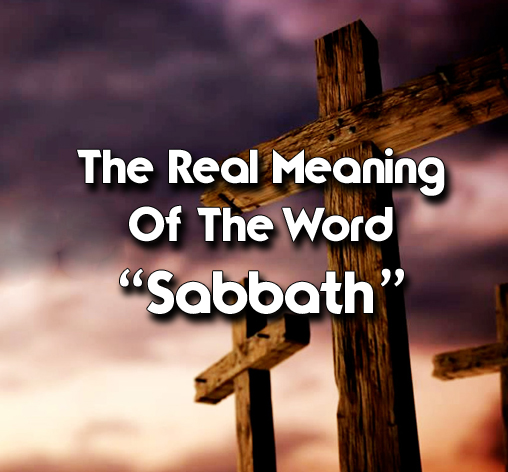 The Real Meaning Of The Word